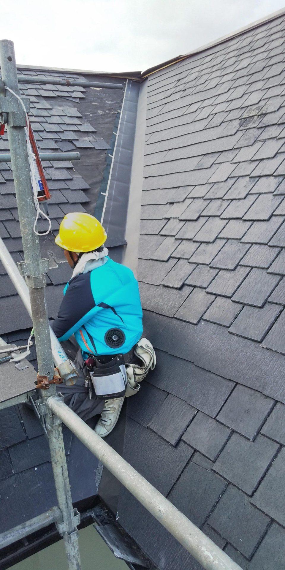 屋根リフォーム・雨漏り修理施工事例7